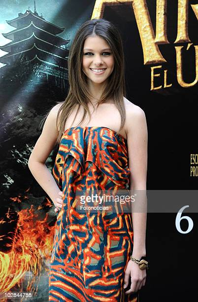 Actress Nicola Peltz attends a photocall for 'Airbender El Ultimo Guerrero' at the Villamagna Hotel on July 13 2010 in Madrid Spain