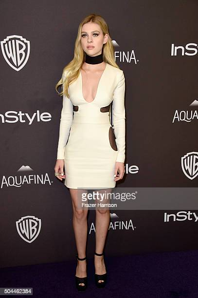 Actress Nicola Peltz attends InStyle and Warner Bros 73rd Annual Golden Globe Awards PostParty at The Beverly Hilton Hotel on January 10 2016 in...