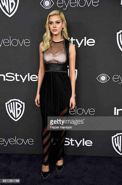 Actress Nicola Peltz attends the 18th Annual PostGolden Globes Party hosted by Warner Bros Pictures and InStyle at The Beverly Hilton Hotel on...
