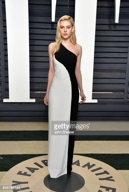 Actress Nicola Peltz attends the 2017 Vanity Fair Oscar Party hosted by Graydon Carter at Wallis Annenberg Center for the Performing Arts on February...