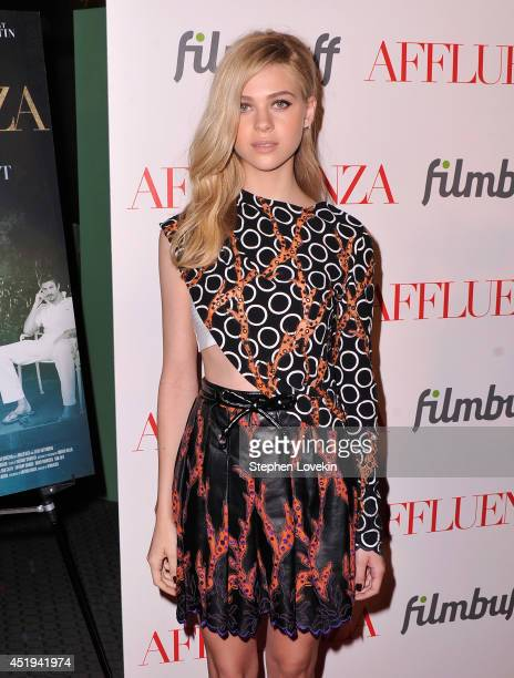 Actress Nicola Peltz attends the Affluenza premiere at SVA Theater on July 9 2014 in New York City