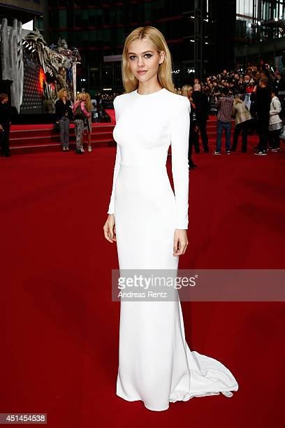 Actress Nicola Peltz attends the european premiere of 'Transformers Age of Extinction' at Sony Centre on June 29 2014 in Berlin Germany