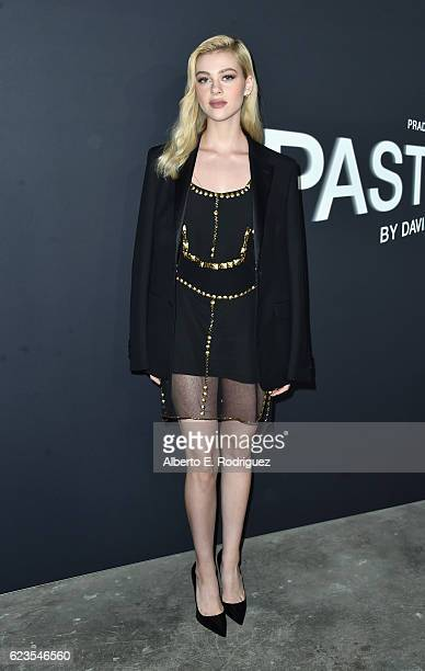 Actress Nicola Peltz attends the premiere of 'Past Forward' a movie by David O Russell presented by Prada on November 15 2016 at Hauser Wirth...
