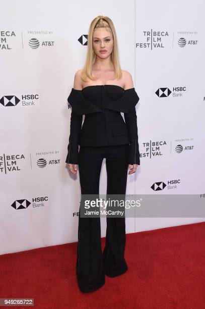 Actress Nicola Peltz attends the screening of 'Back Roads' during the Tribeca Film Festival at Cinepolis Chelsea on April 20 2018 in New York City