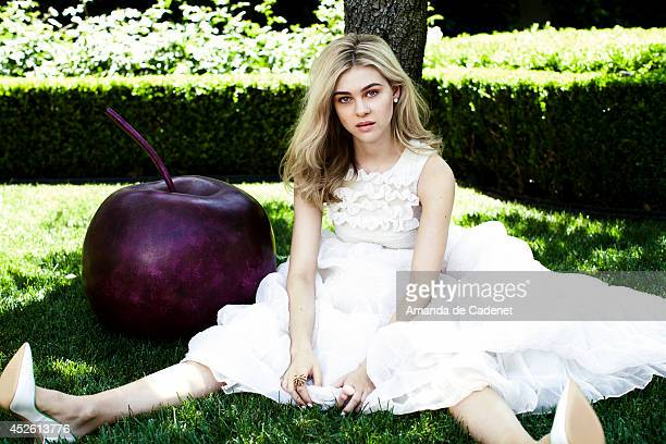 Actress Nicola Peltz is photographed for Violet Grey Magazine on May 16 2014 in Los Angeles California PUBLISHED IMAGE