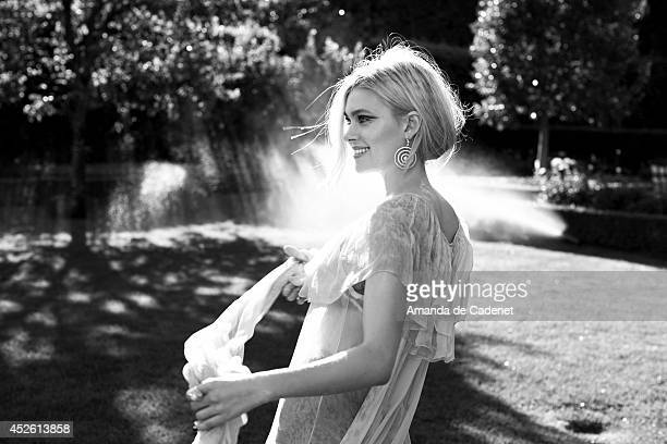 Actress Nicola Peltz is photographed for Violet Grey Magazine on May 16, 2014 in Los Angeles, California. PUBLISHED IMAGE.