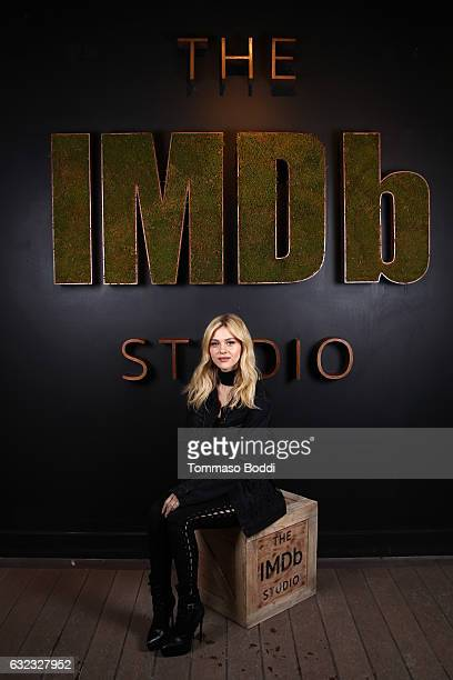 Actress Nicola Peltz of 'When the Street Lights Go On' attends The IMDb Studio featuring the Filmmaker Discovery Lounge presented by Amazon Video...