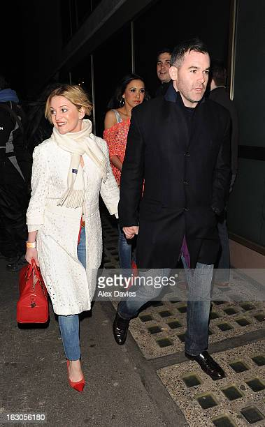 Actress Nicola Stapleton arrives at Whisky Mist on March 3 2013 in London England