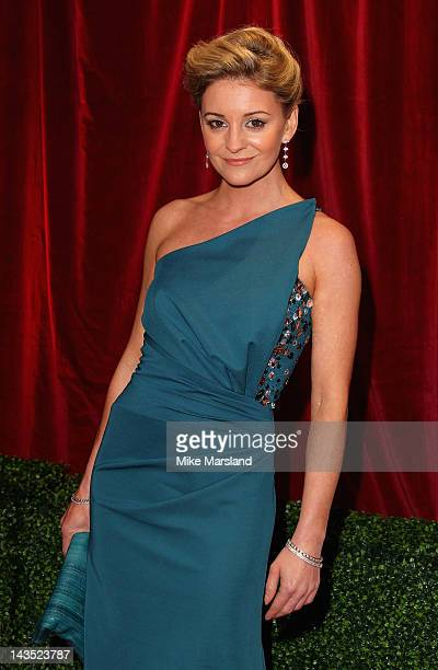 Actress Nicola Stapleton attends the British Soap Awards at The London Television Centre on April 28 2012 in London England