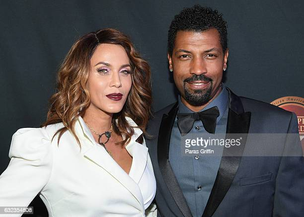 Actress Nicole Ari Parker and actor Deon Cole attend 25th Annual Trumpet Awards at Cobb Energy Performing Arts Center on January 21 2017 in Atlanta...