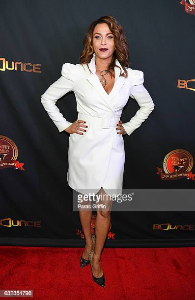 Actress Nicole Ari Parker attends 25th Annual Trumpet Awards at Cobb Energy Performing Arts Center on January 21 2017 in Atlanta Georgia