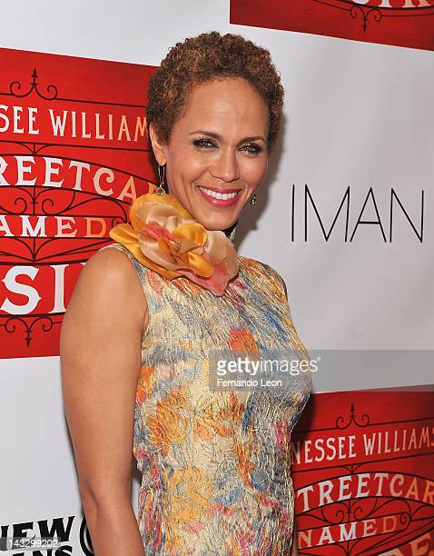 Actress Nicole Ari Parker attends the after party for the opening night of A Streetcar Named Desire at the Copacabana on April 22 2012 in New York...