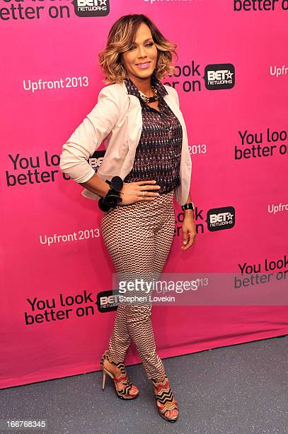 Actress Nicole Ari Parker attends the BET Networks 2013 New York Upfront on April 16 2013 in New York City