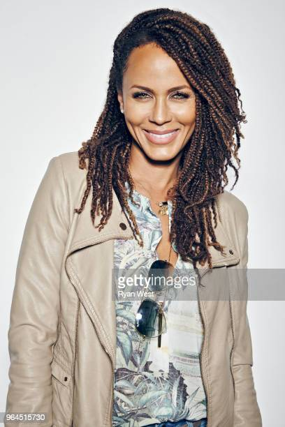 Actress Nicole Ari Parker is photographed inside the ESPY Gifting Suite on July 14 2015 in Los Angeles California