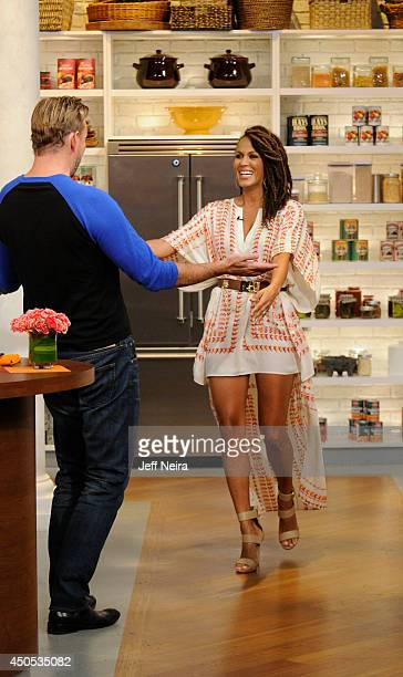 """Actress Nicole Ari Parker is the guest today, Thursday, June 12, 2014 on Walt Disney Television via Getty Images's """"The Chew."""" """"The Chew"""" airs MONDAY..."""