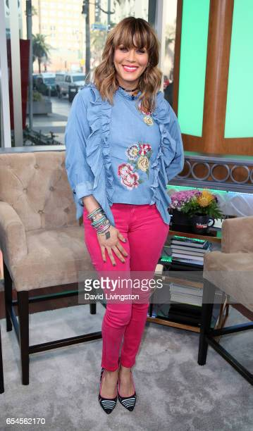 Actress Nicole Ari Parker visits Hollywood Today Live at W Hollywood on March 17 2017 in Hollywood California