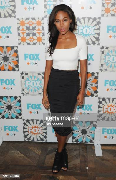 Actress Nicole Beharie arrives at the FOX All-Star Party 2014 Television Critics Association Summer Press Tour at Soho House on July 20, 2014 in West...