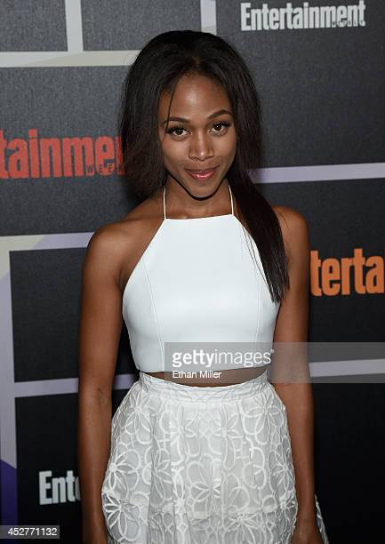 Actress Nicole Beharie attends Entertainment Weekly's annual ComicCon celebration at Float at Hard Rock Hotel San Diego on July 26 2014 in San Diego...