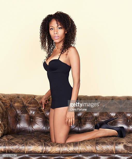 Actress Nicole Beharie is photographed for Esquire Magazine on February 27 2013 in Los Angeles California