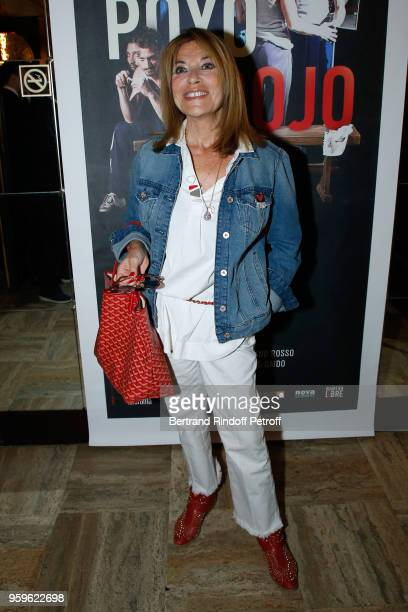 Actress Nicole Calfan attends the 'Un Poyo Rojo' Theater Play celebrates its 10th Anniversary at Theatre Antoine on May 17, 2018 in Paris, France.