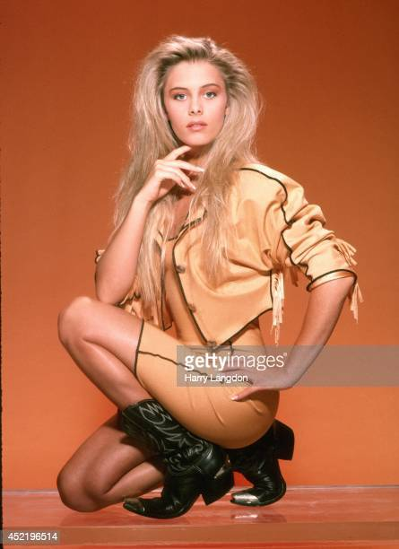 Actress Nicole Eggert poses for a portrait in 1989 in Los Angeles California
