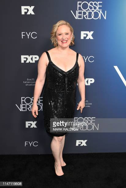 US actress Nicole Fosse arrives for the FYC red carpet event of Fox21 TV Studios FX's Fosse/Verdon at the Samuel Goldwyn Theater in Beverly Hills on...