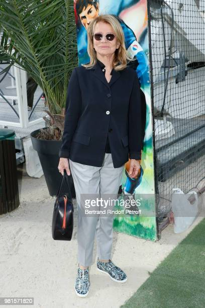 Actress Nicole Garcia attends the Fete Des Tuileries on June 22 2018 in Paris France