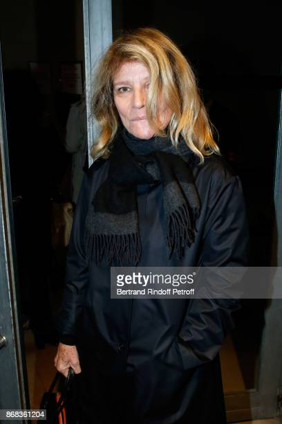 Actress Nicole Garcia attends the Tribute to Roman Polanski Held with a Retrospective of the Director's Work at Cinematheque Francaise on October 30...