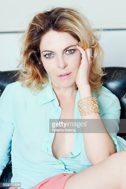 Actress Nicole Grimaudo is photographed for Self Assignment on April 29 2014 in Rome Italy