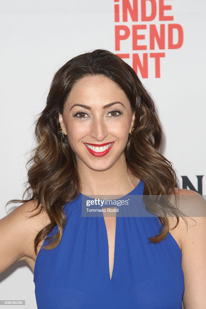 Actress Nicole Haddad attends the premiere of 'Namour' during the 2016 Los Angeles Film Festival at Arclight Cinemas Culver City on June 5, 2016 in Culver City, California.