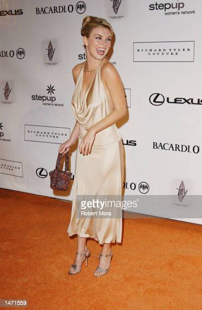Actress Nicole Hiltz attends An Evening of Fashion Music presented by Step Up Women's Network and Lexus at Jim Henson Studios on October 11 2002 in...