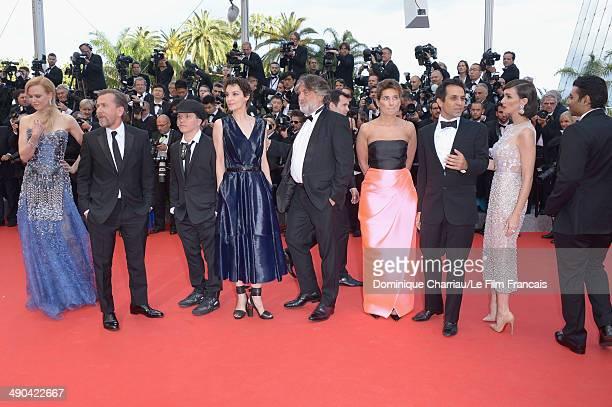 Actress Nicole Kidman actor Tim Roth director Olivier Dahan Jeanne Balibar Pierre Ange Le Pogam Geraldine Somerville Arash Amel Paz Vega and Uday...