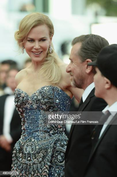 Actress Nicole Kidman and actor Tim Roth attend the Opening Ceremony and the 'Grace of Monaco' premiere during the 67th Annual Cannes Film Festival...