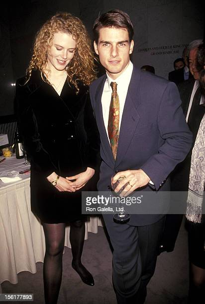 Actress Nicole Kidman and actor Tom Cruise attend The Academy of Motion Picture Arts Sciences and The Museum of Television Radio Celebrate the Launch...