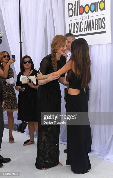 Actress Nicole Kidman and actress/singer Selena Gomez arrive at the 2011 Billboard Music Awards at the MGM Grand Garden Arena May 22 2011 in Las...