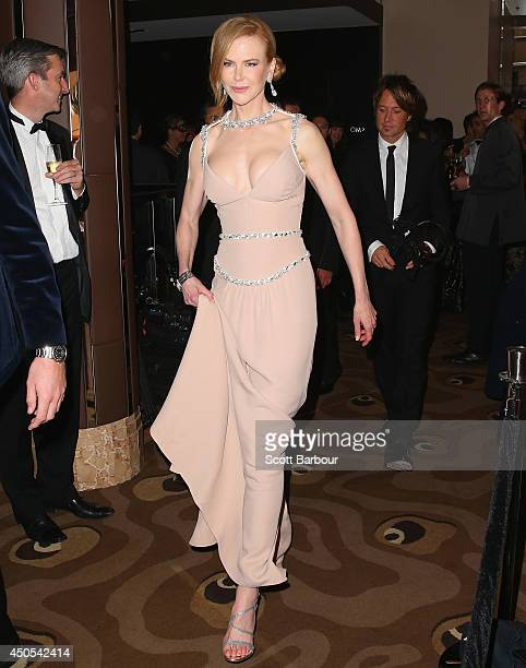 Actress Nicole Kidman and Keith Urban attend the Celebrate Life Ball at Grand Hyatt Melbourne on June 13 2014 in Melbourne Australia
