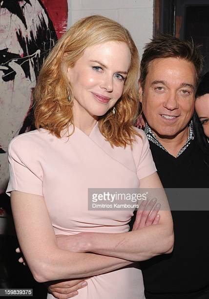 Actress Nicole Kidman and Managing Partner CAA Kevin Huvane attend the CAA Sundance Party featuring Simon Hammerstein's The Act LV on January 20 2013...