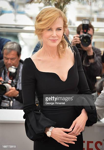 Actress Nicole Kidman and President of the Jury director Steven Spielberg attend the Jury Photocall at The 66th Annual Cannes Film Festival on May 15...