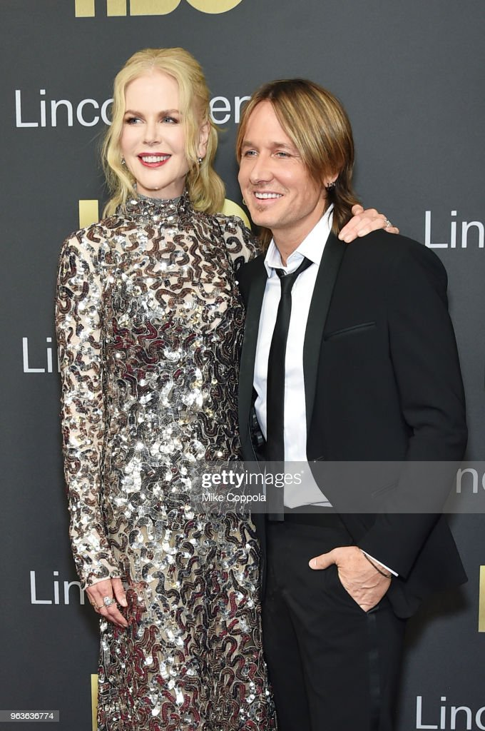 Actress Nicole Kidman (L) and singer-songwriter Keith Urban attend Lincoln Center's American Songbook Gala at Alice Tully Hall on May 29, 2018 in New York City.