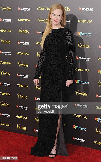 Actress Nicole Kidman arrives at the 2015 G'Day USA Gala Featuring The AACTA International Awards Presented By Quantas at Hollywood Palladium on...