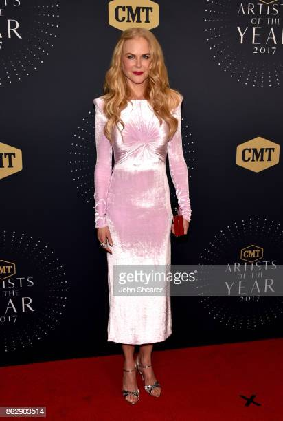 Actress Nicole Kidman arrives at the 2017 CMT Artists Of The Year on October 18 2017 in Nashville Tennessee