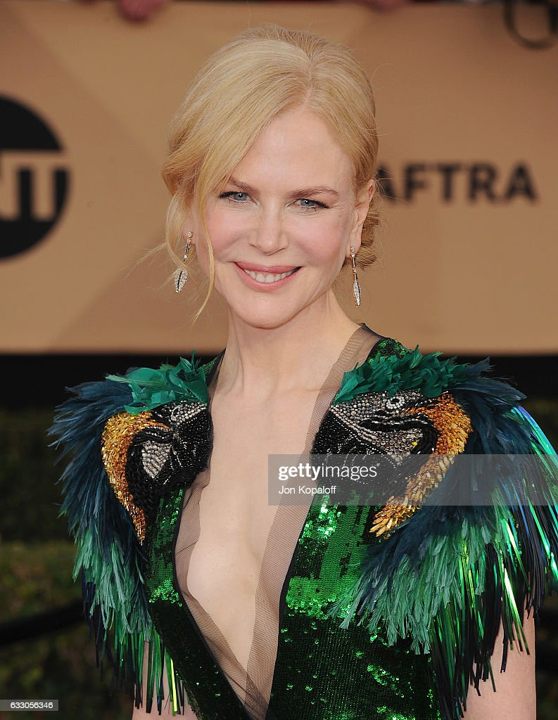 Actress Nicole Kidman arrives at the 23rd Annual Screen Actors Guild Awards at The Shrine Expo Hall on January 29, 2017 in Los Angeles, California.