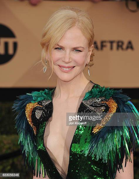 Actress Nicole Kidman arrives at the 23rd Annual Screen Actors Guild Awards at The Shrine Expo Hall on January 29 2017 in Los Angeles California