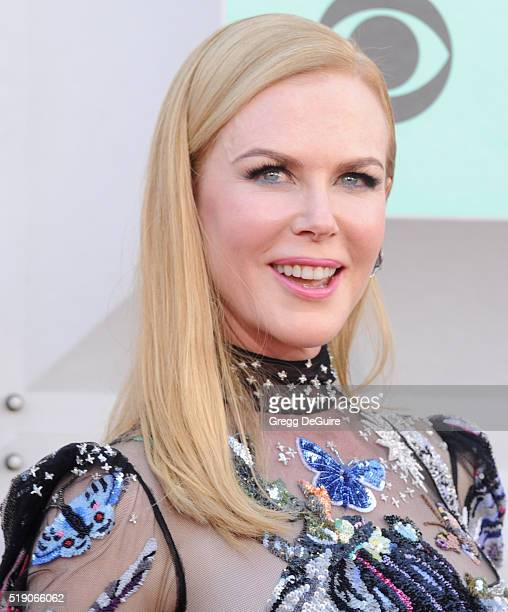 Actress Nicole Kidman arrives at the 51st Academy Of Country Music Awards at MGM Grand Garden Arena on April 3 2016 in Las Vegas Nevada