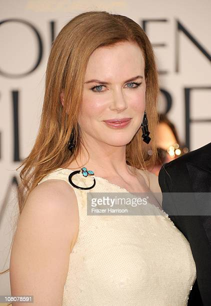 Actress Nicole Kidman arrives at the 68th Annual Golden Globe Awards held at The Beverly Hilton hotel on January 16 2011 in Beverly Hills California