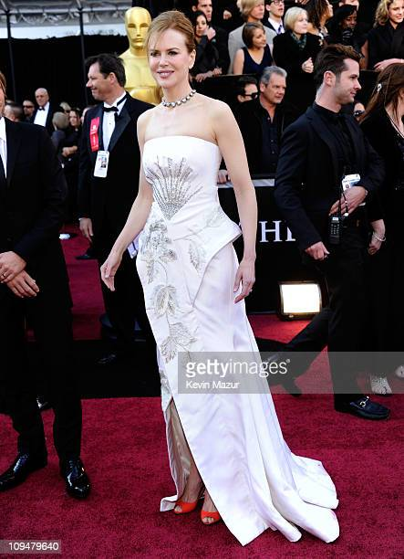 Actress Nicole Kidman arrives at the 83rd Annual Academy Awards held at the Kodak Theatre on February 27, 2011 in Hollywood, California.