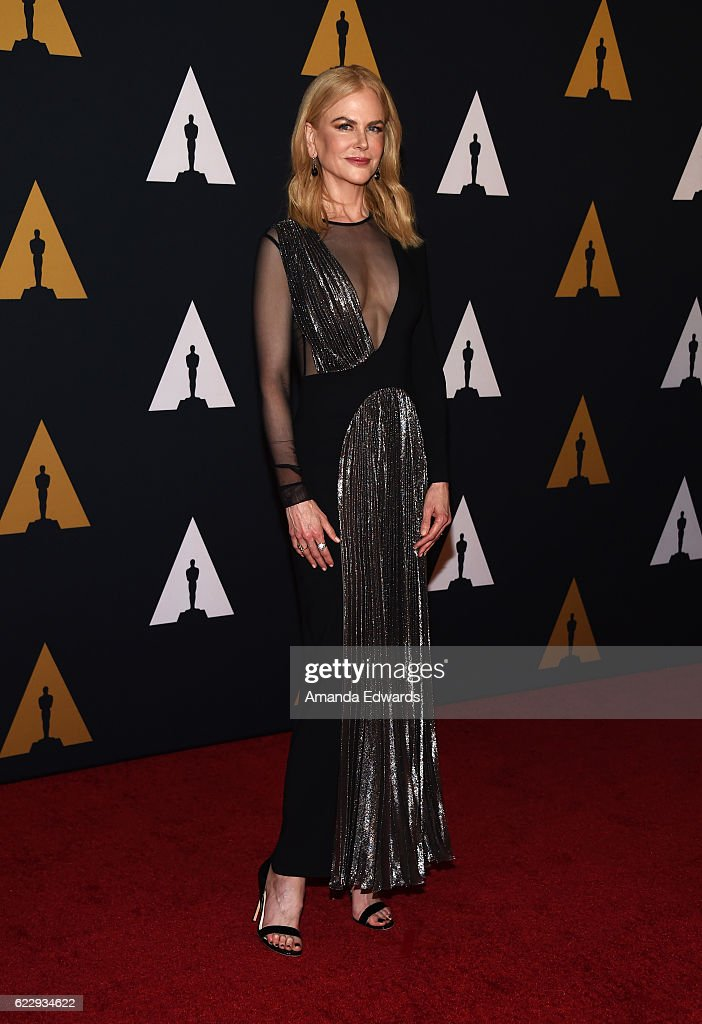 Actress Nicole Kidman arrives at the Academy of Motion Picture Arts and Sciences' 8th Annual Governors Awards at The Ray Dolby Ballroom at Hollywood & Highland Center on November 12, 2016 in Hollywood, California.