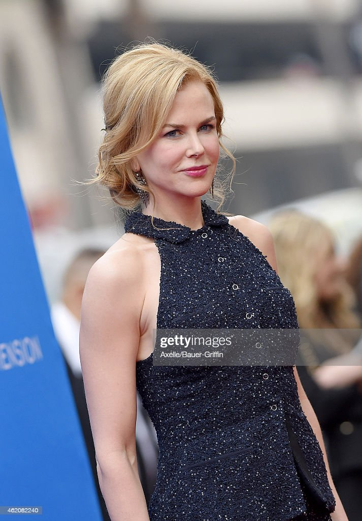 Actress Nicole Kidman arrives at the Los Angeles premiere of 'Paddington' at TCL Chinese Theatre IMAX on January 10, 2015 in Hollywood, California.