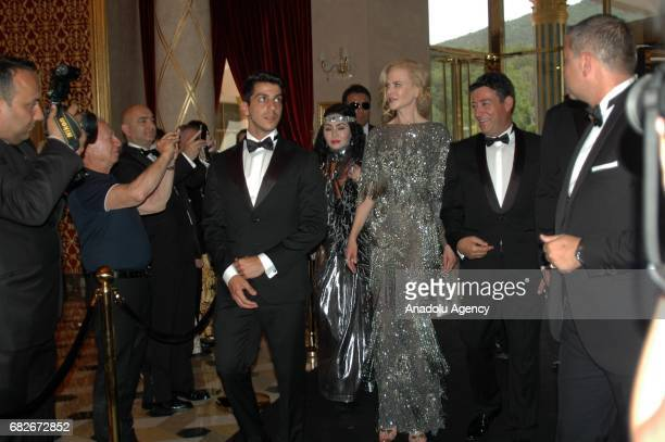 Actress Nicole Kidman arrives to attend the opening of The Bodrum by Paramount Hotels Resort Hotel at Bodrum district of Mugla Turkey on May 13 2017