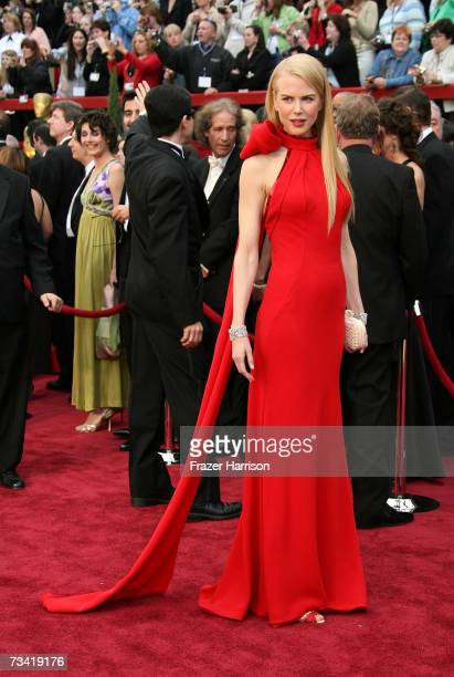 Actress Nicole Kidman attend the 79th Annual Academy Awards held at the Kodak Theatre on February 25, 2007 in Hollywood, California.